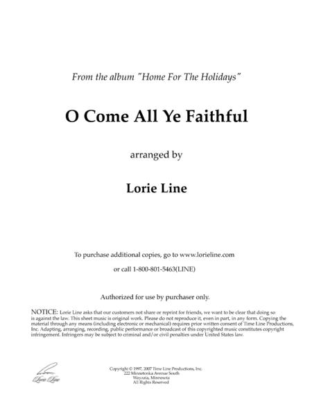 O Come All Ye Faithful (from Home For The Holidays)