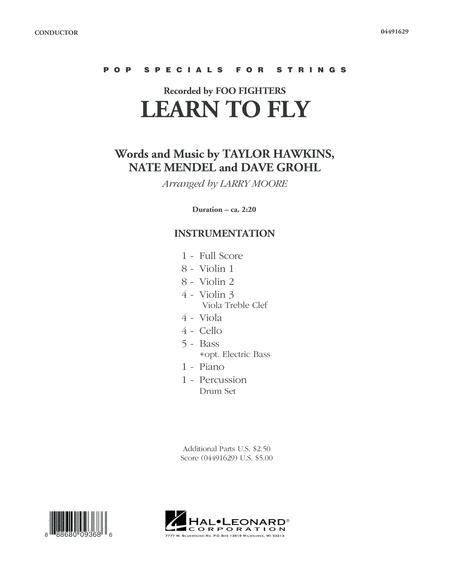 Learn to Fly - Conductor Score (Full Score)