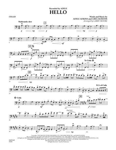 Hello - Cello