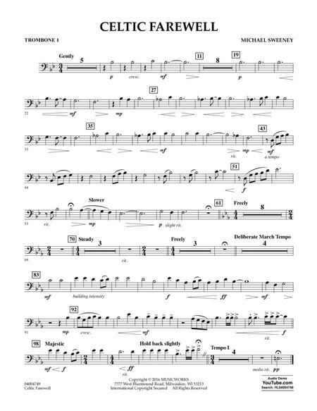 Celtic Farewell - Trombone 1