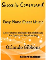 Queen's Command Easy Piano Sheet Music