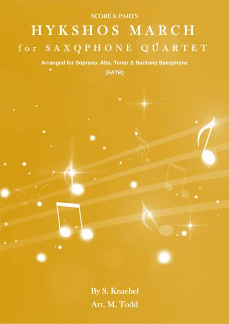Hykshos March for Saxohone Quartet (SATB)