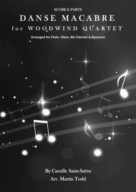 Danse Macabre for Woodwind Quartet