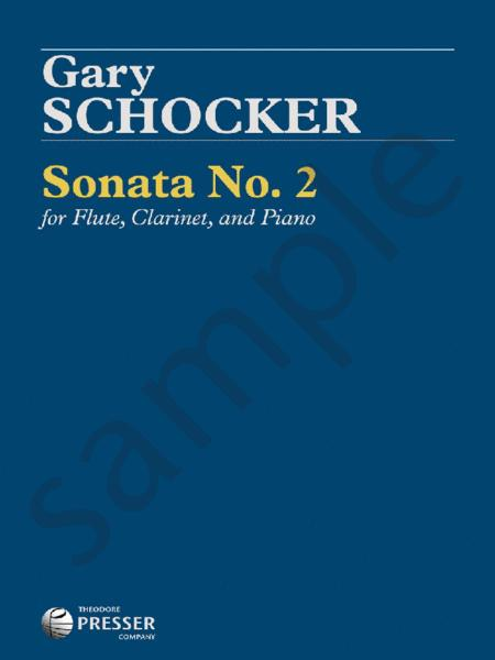 Sonata No. 2 For Flute, Clarinet, And Piano
