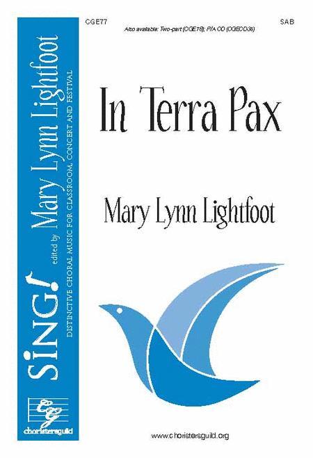 In Terra Pax (SAB)