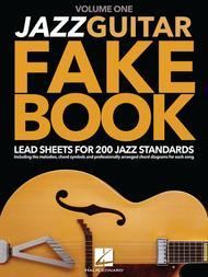 Jazz Guitar Fake Book - Volume 1