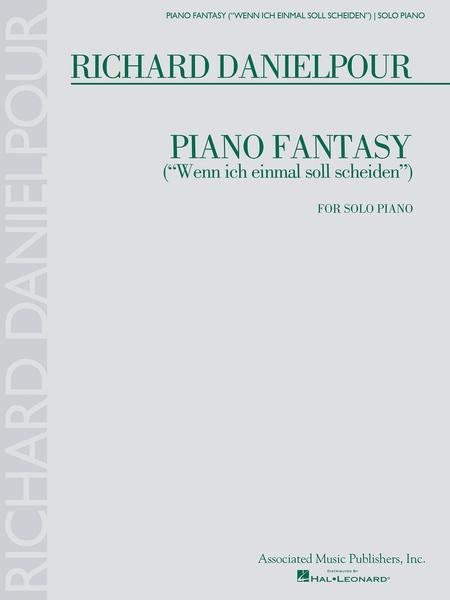Piano Fantasy (Wenn ich einmall soll scheiden)