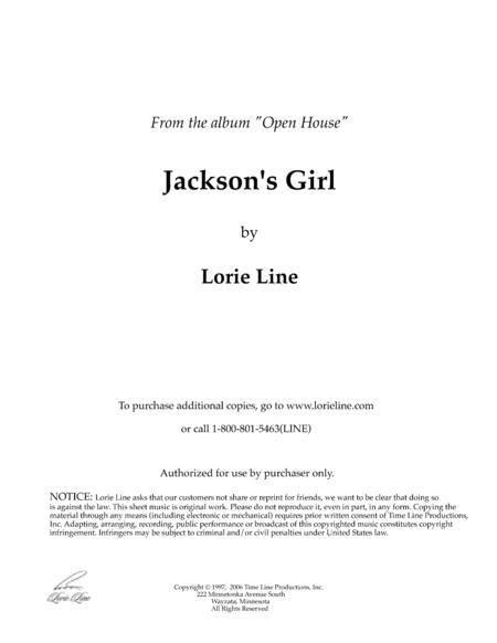 Jackson's Girl
