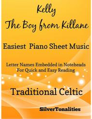 Kelly the Boy From Killane Easiest Piano Sheet Music