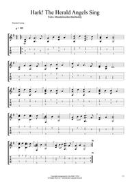 Hark The Herald Angels Sing Fingerstyle Guitar By Charles