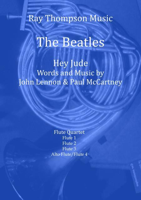 Beatles: Hey Jude - flute quartet
