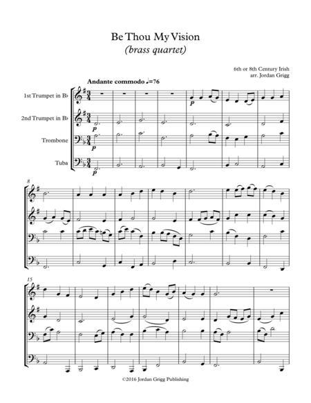 Be Thou My Vision (brass quartet)
