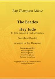 Beatles: Hey Jude - saxophone quartet