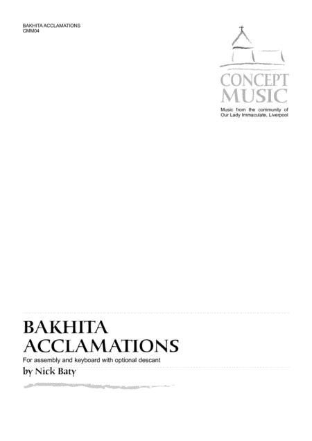 Bakhita Acclamations