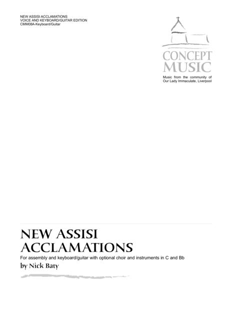 New Assisi Acclamations