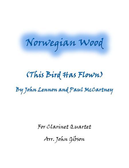 Norwegian Wood (The Beatles)  Clarinet Quartet