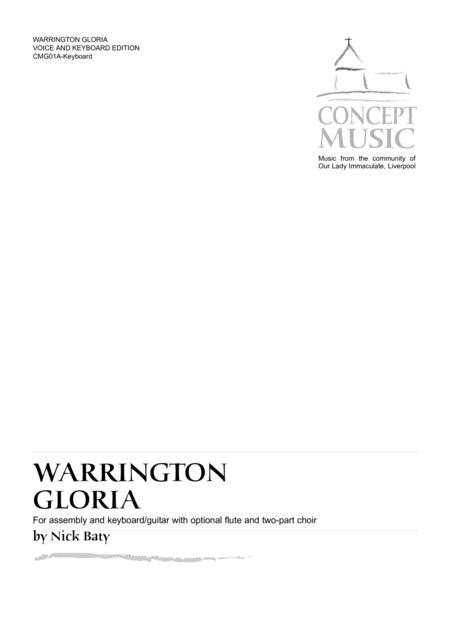 Warrington Gloria (Keyboard edition)