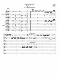 Concerto grosso, Op.6, no.4 (original)