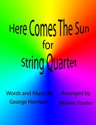 Here Comes The Sun for String Quartet