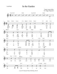 In the Garden (Lead Sheet with Lyrics)