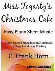 Miss Fogarty's Christmas Cake Easy Piano Sheet Music