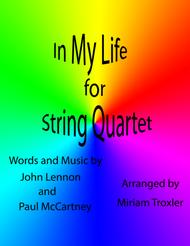 In My Life for String Quartet