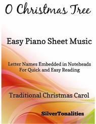 O Christmas Tree Easiest Piano Sheet Music