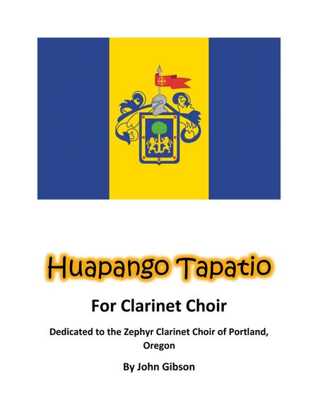 Huapango Tapatio Clarinet Choir Mexican Dance