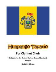 Huapango Tapatio Clarinet Choir Mexican Dance
