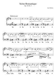 5 Morceaux Romantiques, Op.101 - V. Scene Romantique