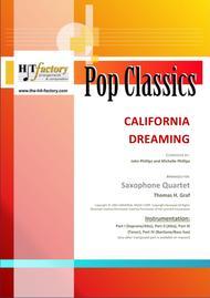 California Dreaming - Beach Boys, Mamas & the Papas - Saxophone Quartet