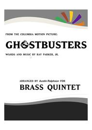 Ghostbusters - brass quintet