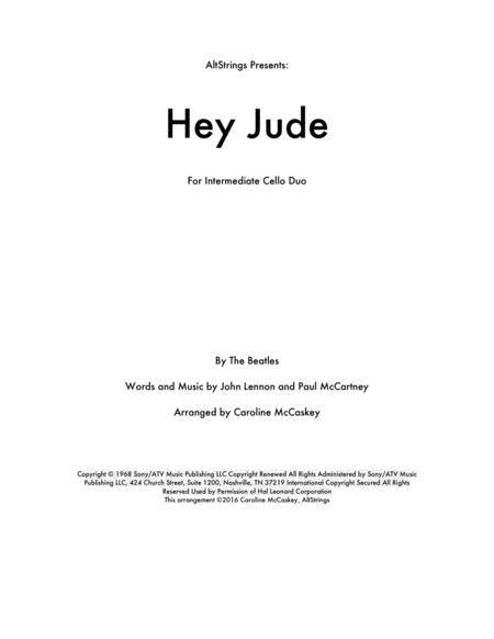 Hey Jude - Cello Duet