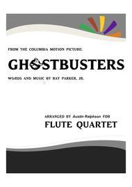 Ghostbusters - flute quartet