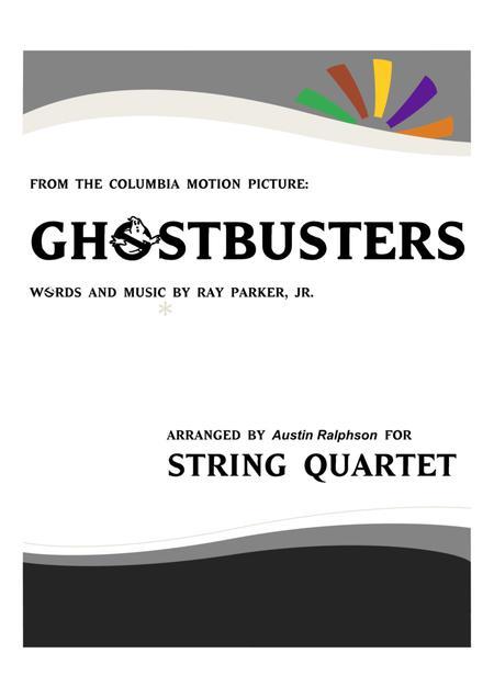 Ghostbusters - string quartet