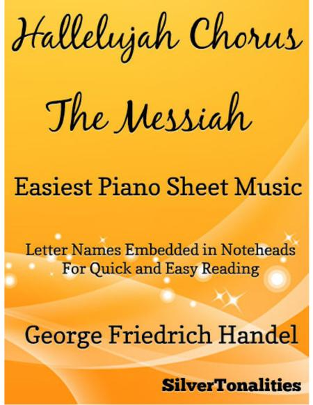 Hallelujah Chorus Easiest Piano Sheet Music