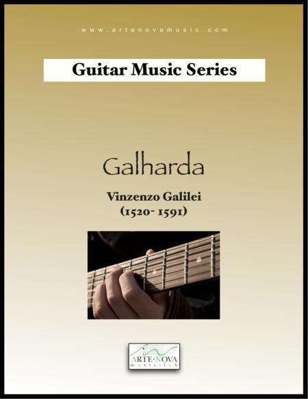 Galharda. Guitar