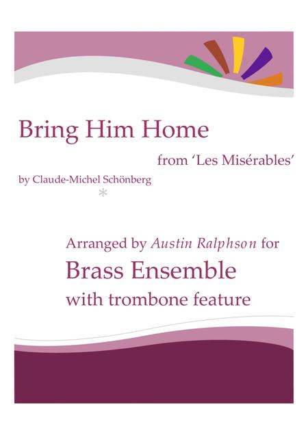 Bring Him Home from 'Les Miserables' - brass ensemble