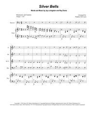Silver Bells (for Woodwind Quartet)
