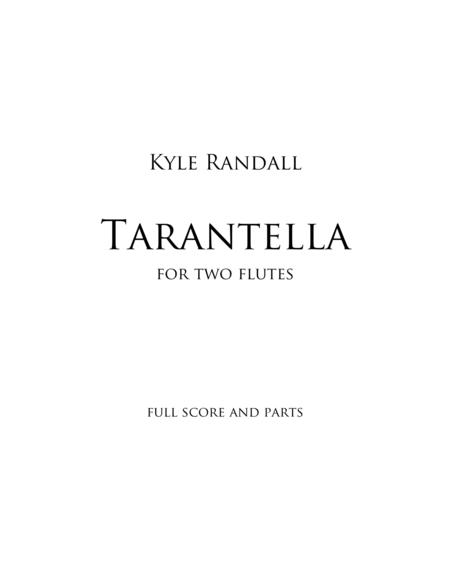 Tarantella for two flutes