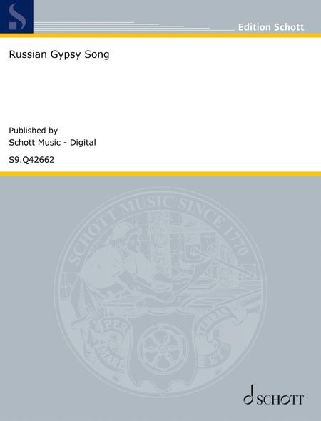 Download Russian Gypsy Song Sheet Music By Wilhelm Popp
