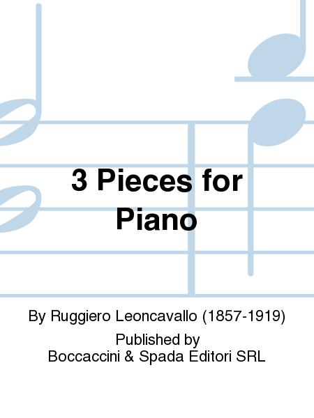 3 Pieces For Piano