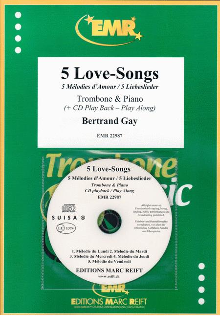 Preview 5 Love-Songs By Bertrand Gay (MA EMR-22987) - Sheet Music Plus