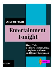 Entertainment Tonight-for Harp and 7 Players