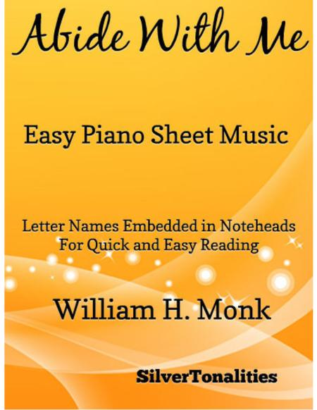 Abide With Me Easy Piano Sheet Music