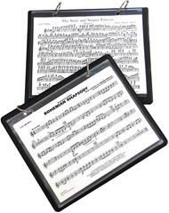 Marlo Marching Band Flip Folder With 5 Window Sleeves