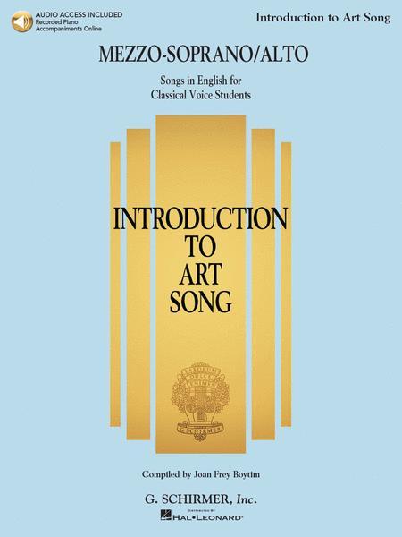 Introduction to Art Song for Mezzo-Soprano/Alto