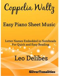 Coppelia Waltz Easy Piano Sheet Music