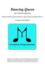 Dancing Queen - for Clarinet Quartet