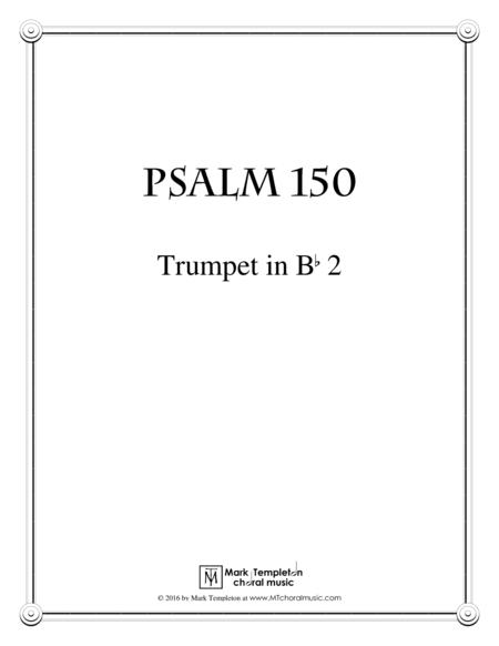 Psalm 150 (Trumpet in Bb 2)